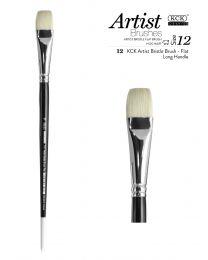 KCK Premium Artist Bristle Brush - Size 12