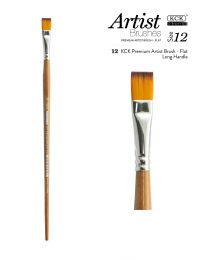 KCK Premium Artist Nylon Brush - Size 12