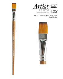 KCK Premium Artist Nylon Brush - Size 22