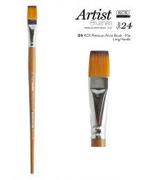 KCK Premium Artist Nylon Brush - Size 24