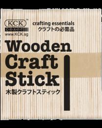 KCK Wooden Craft Sticks - Natural Wood