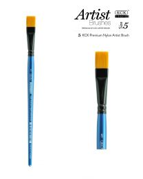 KCK Nylon Flat Watercolour Brush - Size  5