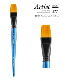 KCK Nylon Flat Watercolour Brush - Size  11