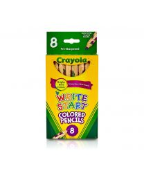 Crayola Write Start Colored Pencils - Set of 8
