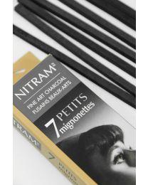 Fine Art Charcoal Nitram - Mignonette (Bâton Refills)
