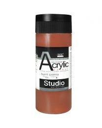 KCK Studio Series Acrylic Paint - Burnt Sienna