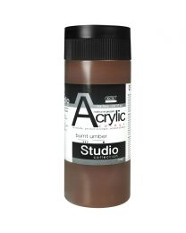 KCK Studio Series Acrylic Paint - Burnt Umber