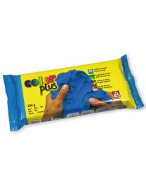 SIO-2 Coloured Natural Self-Hardening Clay - Blue COLORPLUS 500g