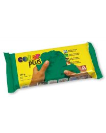 SIO-2 Coloured Natural Self-Hardening Clay - Green COLORPLUS 500g