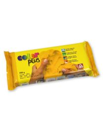 SIO-2 Coloured Natural Self-Hardening Clay - Yellow COLORPLUS 500g