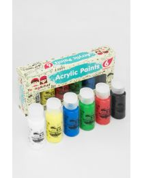 KCK Young Artist Paint Set - 6 Colours