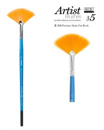 KCK Nylon Fan Brush - Size 5