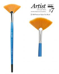 KCK Nylon Fan Brush - Size 7