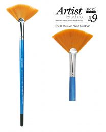 KCK Nylon Fan Brush - Size 9