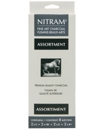 Fine Art Charcoal Nitram - Assortment