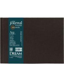 DREAM© Artist Journal Hard Cover Bound - A5L Umber