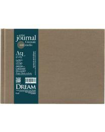 DREAM© Artist Journal Hard Cover Bound - A5L Buff