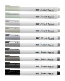 Marvy Uchida Artist Brush - Grey
