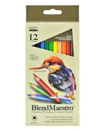 KCK Blend Maestro Colour Pencil - 12 Colours