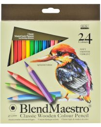 KCK Blend Maestro Colour Pencil - 24 Colours