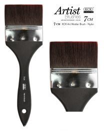 KCK Art Mottler Nylon Brush - 7 cm