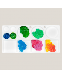 Plastic Palette For Acrylic - 15cmx31cm