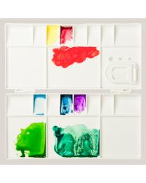 Watercolour Palette Box - 10x20cm