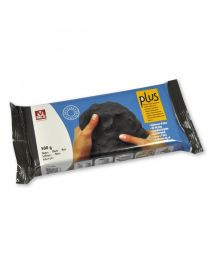 SIO-2 Natural Self-Hardening Clay - Black PLUS 500g