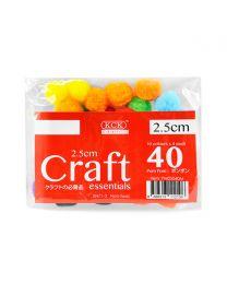 KCK Craft Essentials - Pom-Pom 40