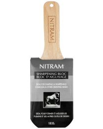 Fine Art Charcoal Nitram - Sharpening Bloc