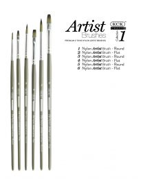 KCK 2-Tone Nylon Brush Set - Intro 1