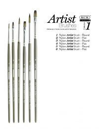 KCK 2-Tone Nylon Brush Set - Intro 1