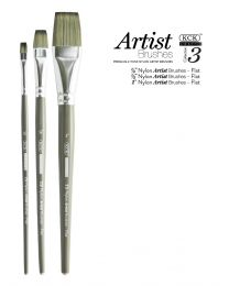 KCK 2-Tone Nylon Brush Set - Flats