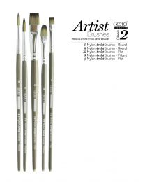 KCK 2-Tone Nylon Brush Set - Intro 2